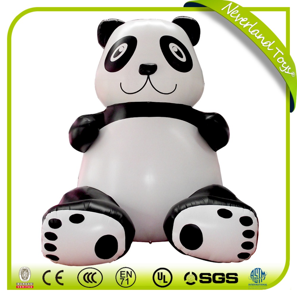 high quality inflatable panda costume giant inflatable panda for sale