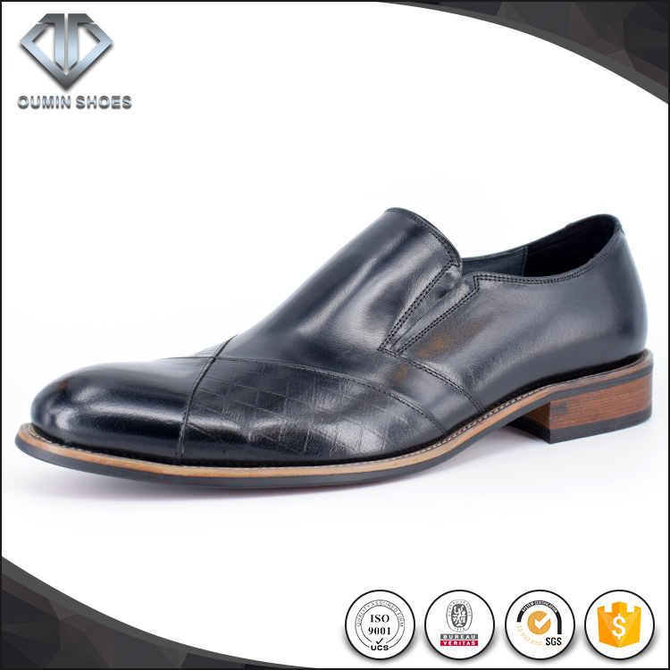 China supplier man shoes ecological cow leather men office shoe