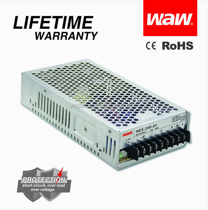 high quality SMPS 17a 12v 200w NES-200 switching power supply