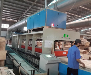 HF conveyor edge gluer for wooden board made in China
