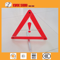 warning triangle, car emergency kit