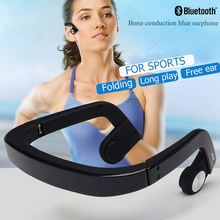 New Arrival Stereo Wireless Bone Conduction Bluetooth Headset With Deaf-aid