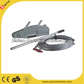 2014 hot sale heavy duty wire rope winch /rope pulling hoist with CE&GS