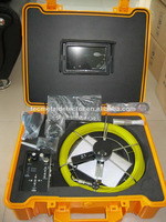 7 inch monitor Pipe inspection camera with 512hz transmitter and keyboard TEC-Z710DLK