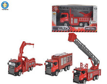 kids plastic friction toy car,Inertia fire engine