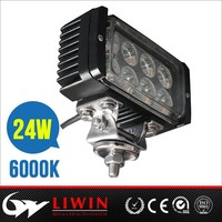 "Liwin automobile hottest sale! 10-30v 4.5"" 24w led truck working light automobile light lamp driving lights"