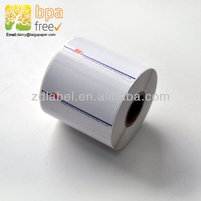 Cas thermal scale label