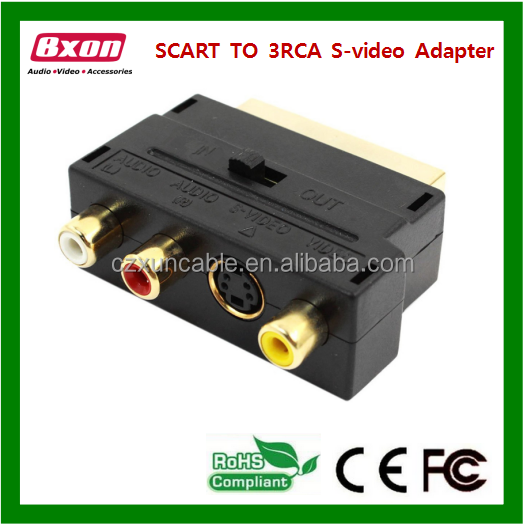 scart to rgb adapter hdmi to scart game selector