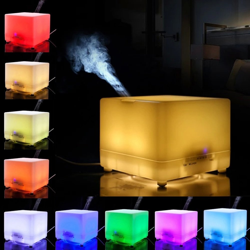 Home decor gifts essential oil diffuser humidifier lamps for Home decor products