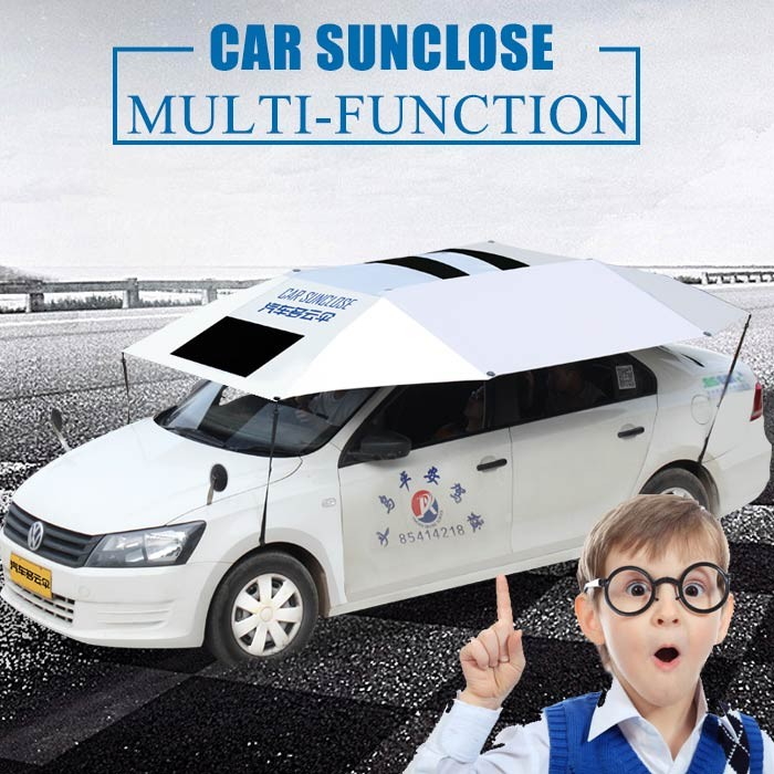 Hot summer SUNCLOSE portable multi function retractable folding garage car cover
