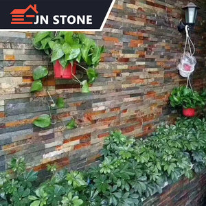 cheapest natural material exterior slate stone wall cladding