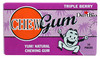 Best quality cheap herbal private label manufacturer diet chewing gum wrigley chewing gum