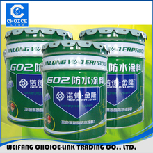 Flexible good quality oil based polyurethane waterproof coating for tile
