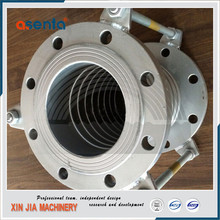 dn50 dn300 pn10 steam thick wall square tube metal expansion joint