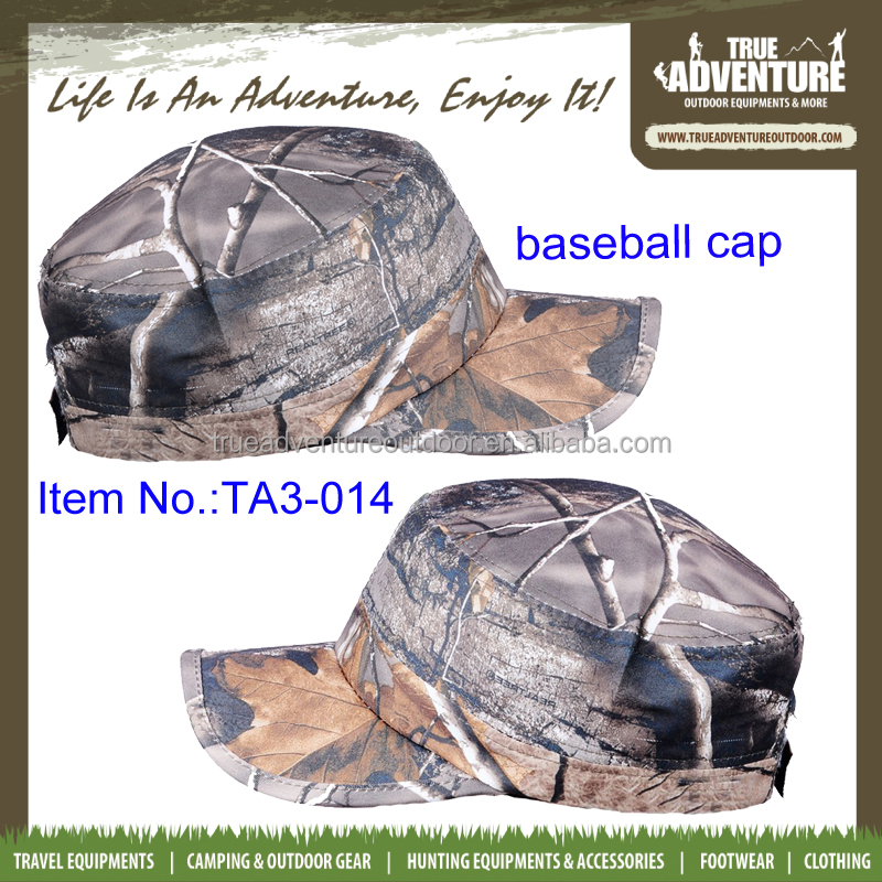 True Adventure TA3-014 Wholesale Classic Baseball <strong>Caps</strong> Men's Custom Camouflage Military Hat Made in China