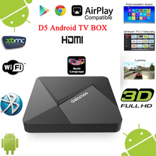New Product D5 Digital TV Cable Set Top Box Install Google Play Store Android TV Box