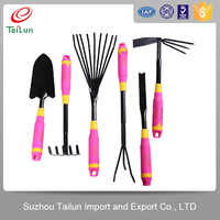 different kinds of lady gardener garden digging tools shovel