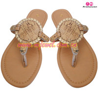 2016 FACTORY Wholesale cork sandal