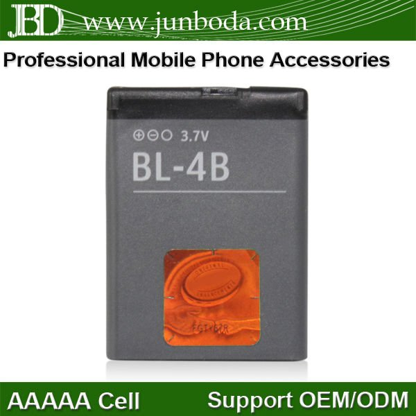BL-4B BL4B Battery for Nokia 6111 N75 N76 7070 cell phone 700mAh