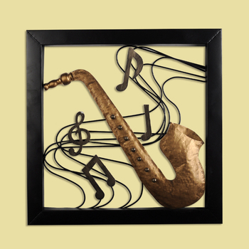 Wholesale Musical Theme Wall Decor Modern Metal Wall Art