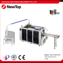 NewTop Wenzhou Professional Recycle Ultrasonic Paper Cup Forming Machine Low Price
