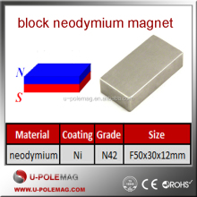 n52 neodymium magnet/large magnets for sale/Block Neodymium Magnet