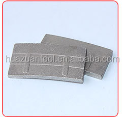 Granite stone cutting china diamond segment with stable quality