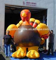 inflatable turkey/ customized inflatable turkey for event/ inflatable advertising turkey balloon
