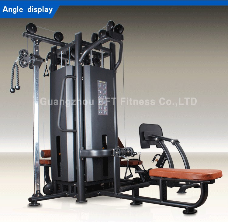 High quality multi station mahcine multi gym equipment