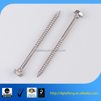 Hex head self tapping wood anchor bolts