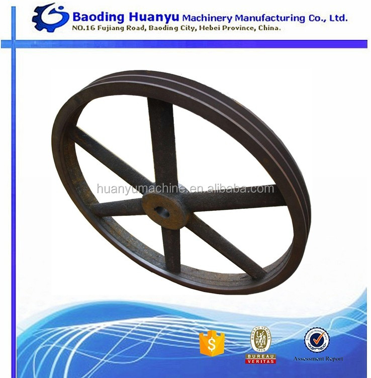 China Supplier Cast Iron V Belt Pulley Wheels