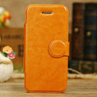 factory price cover for iphone 5c book style,leather+pc back case stylish cover for iphone 5c