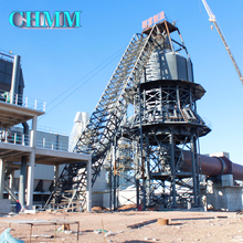Calcining Rotary Kiln For Cement Production Line Plant Active Lime