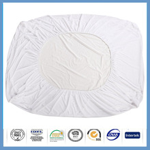 terry Hypoallergenic breathable pu fabric mattress cover