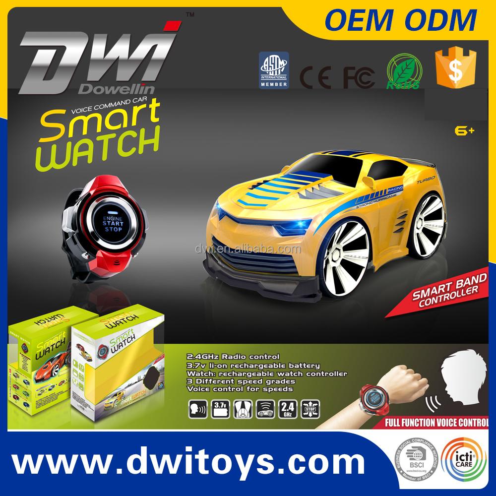 Smart Watch Full Function Voice Command 2.4G Mini RC Car electric Voice Control for Speed Best Gift for Children