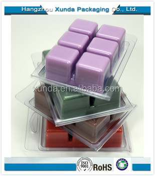 Wholesale Vacuum Formed Blister Wax Melt Plastic Clamshell Packaging