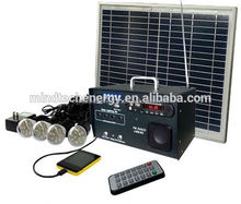 low cost solar camping lighting with mobile charger