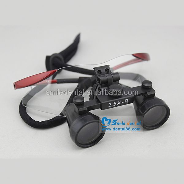 Two style frame dental loupes 3.5