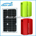 Portable SOLAR POWERED BATTERY CHARGERS for home automation