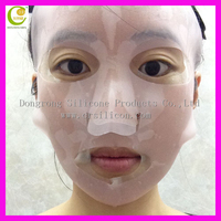 Reuseable hydrotherapy transparent color silicone ear hanging facial mask