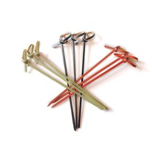 Low Price Decorative Cocktail Bamboo Knot Skewers Sticks For Sushi/fruit/cakes