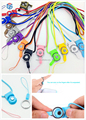 high quality nylon rope universal mobile phone case detachable lanyard cell phone finger strap