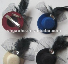 Lady's low Rose feathers for Hairpin/Hats hot sell