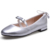 Factory Directly Sell High Quality Kids Ballroom Crystal Latin Dance Shoes