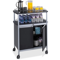 custom duralbe airline food and beverage cart with four wheels
