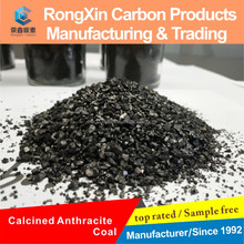 Low Sulfur Calcined Anthracite Coal for Steel Smelting