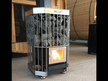 25KW modern design wood burning stoves stainless steel intank/ steel plate wooden burning stove for sales
