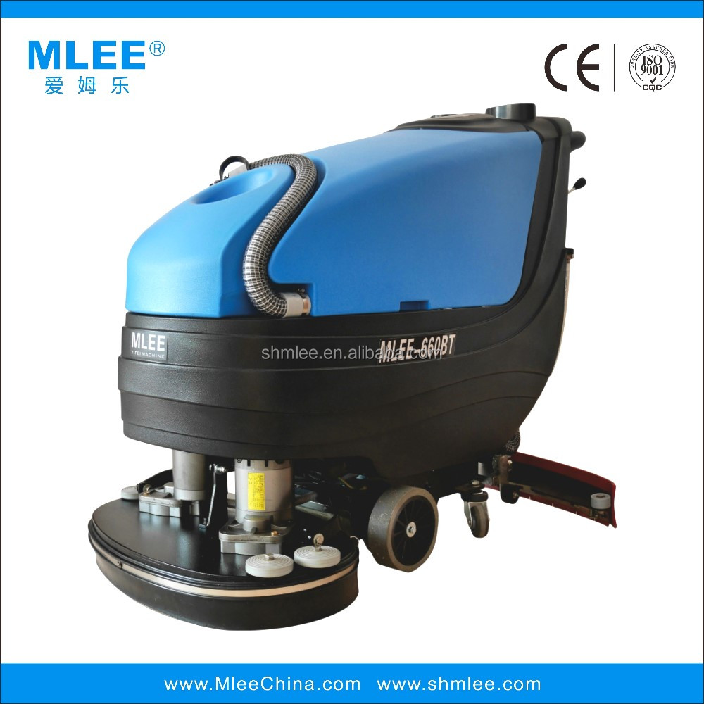 MLEE660BT gym floor scrubber basketball court indoor dry floor cleaning equipment