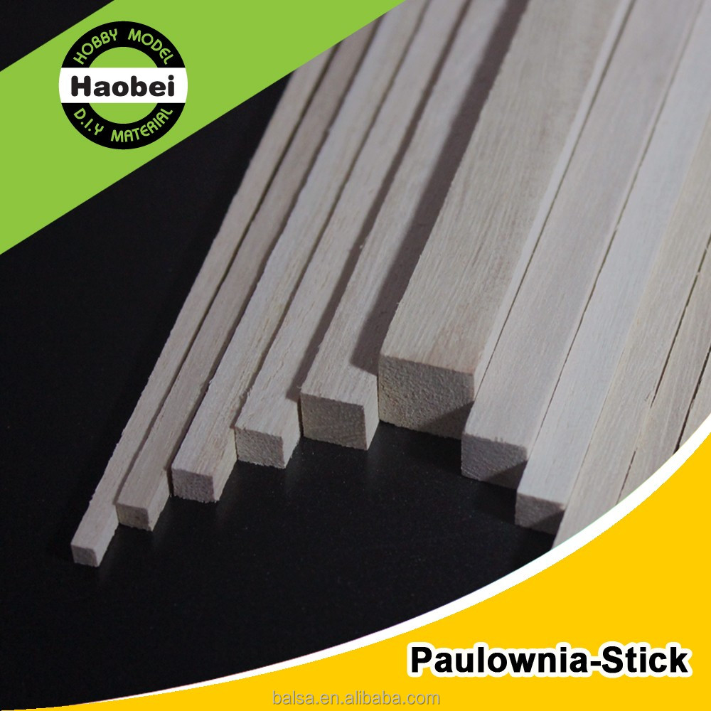 Chinese High Quantity Paulownia Wood Strips for Sale