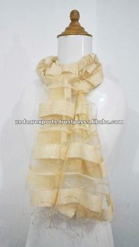 Light weight Organza silk indian scarf